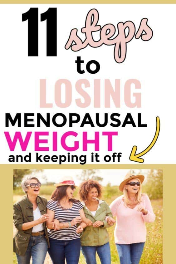 lose menopausal weight and keep it off