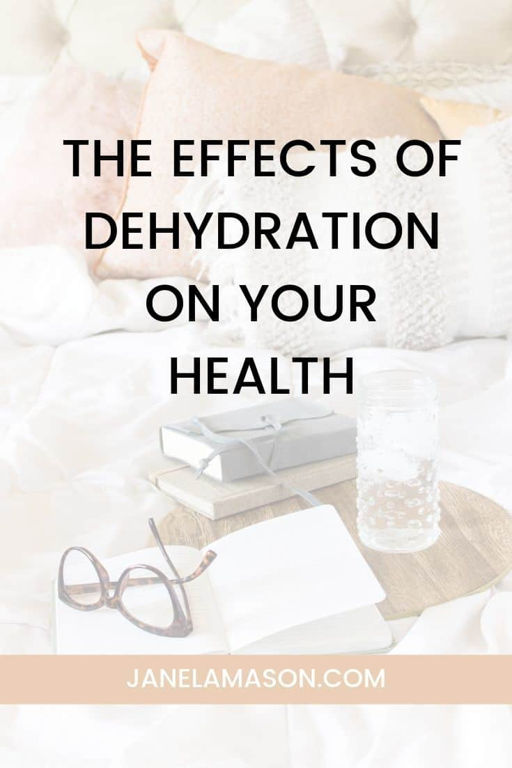 Are You Getting Enough Water? The Effects Of Dehydration On Your Health