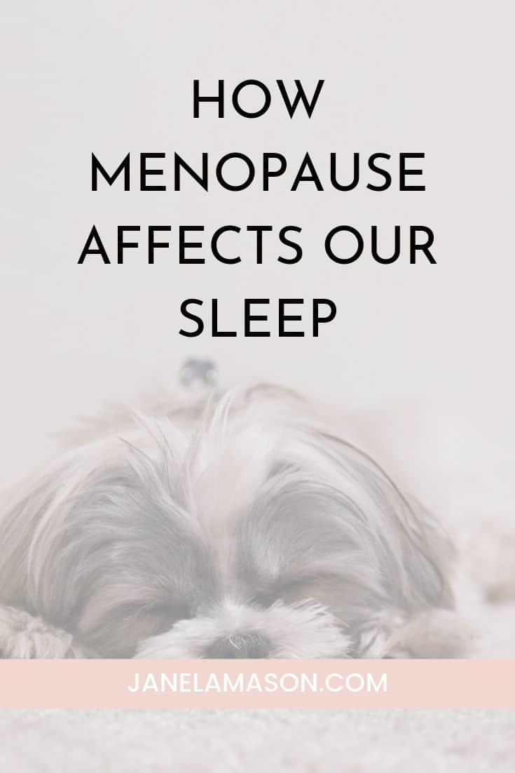 How Menopause Affects Our Sleep And What To Do About It