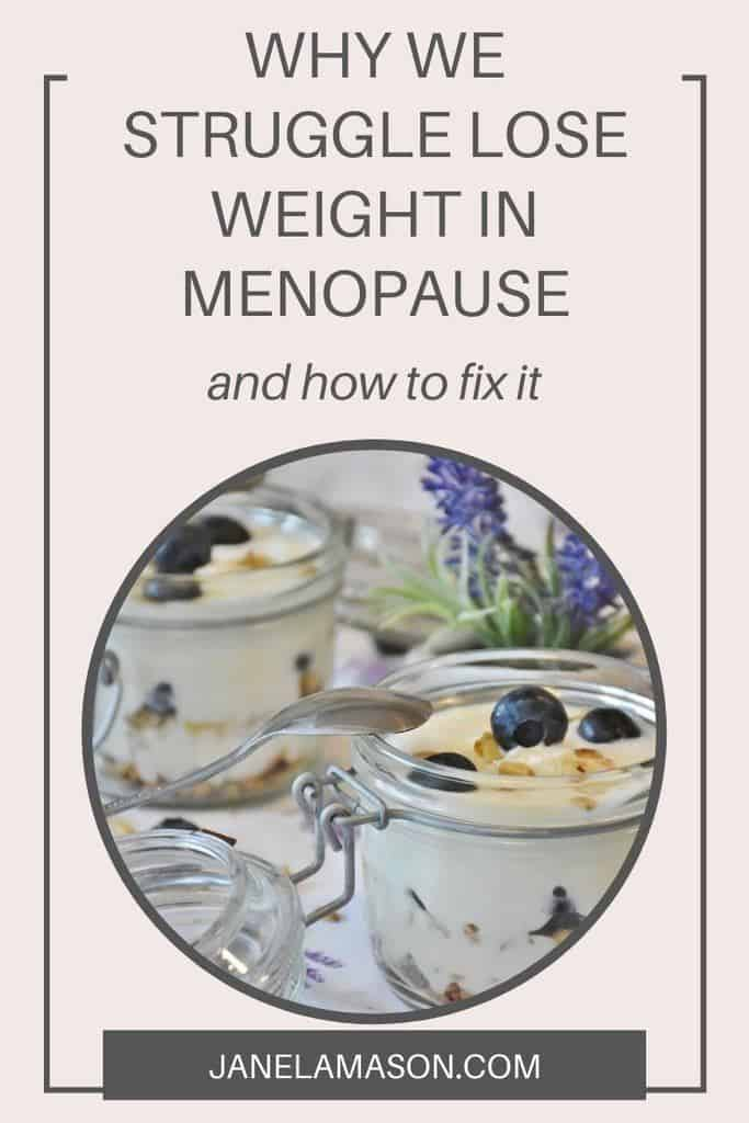 how to lose the weight you gain in menopause (1)