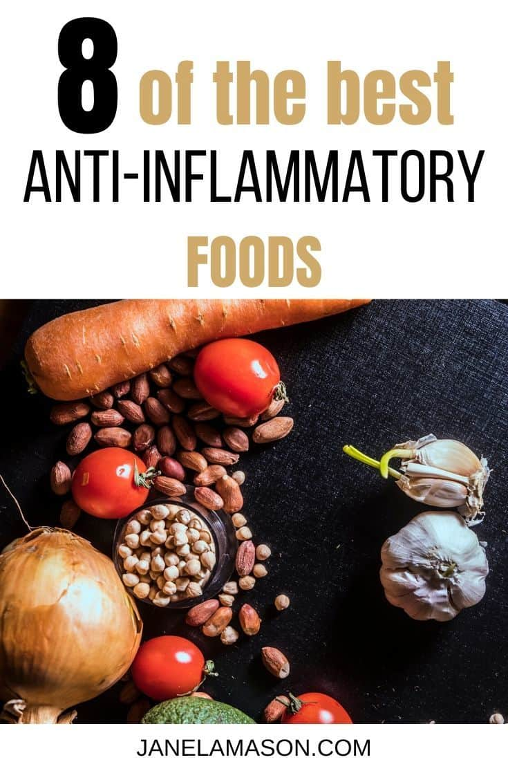 8 Of The Best Anti-inflammatory Foods