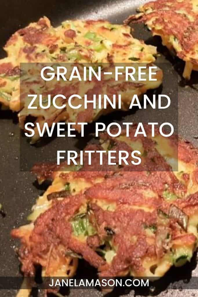 Grain-Free Zucchini and Sweet Potato Fritters