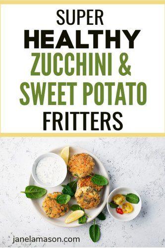 Zucchini sweet potato fritters (1)