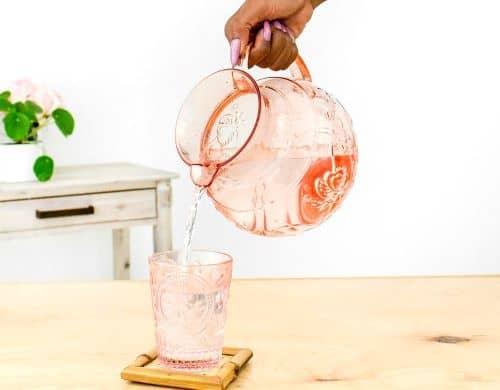 Water to help improve menopause symptoms