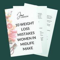 10 weightloss mistakes women in midlife make