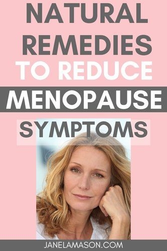 How to Reduce your menopause symtoms naturally