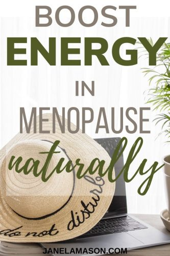 Boost your energy in menopause naturally