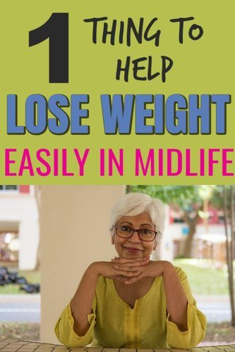 How to remove stress to lose weight in midlife