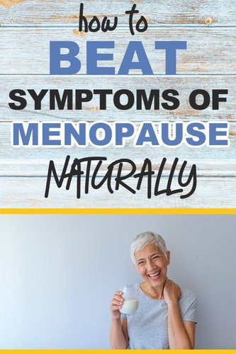 woman reduce symptoms of menopause naturally