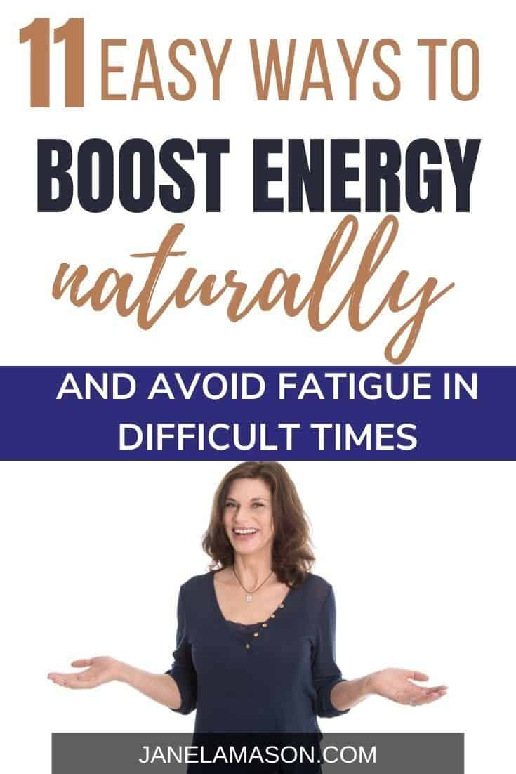 Boost Energy Naturally and avoid fatigue
