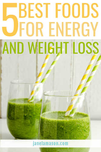 5 best foods for energy and weight loss