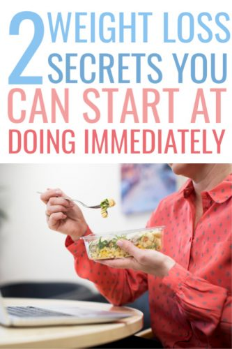 Two Simple Weight Loss Secrets You Can Do At Home