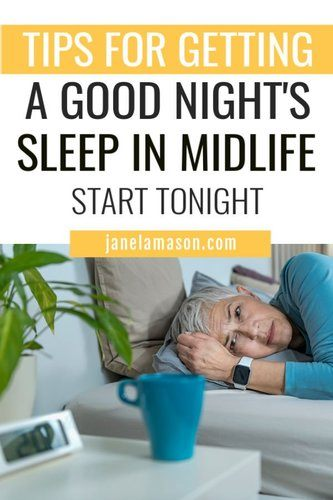 How to get a better night's sleep in midlife