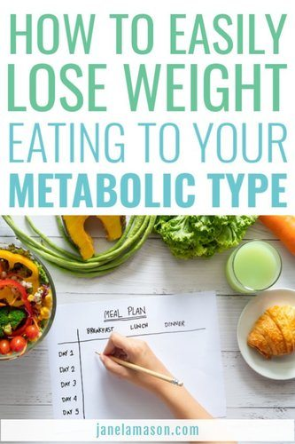 eat according to your metabolic type