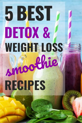 detox smoothies for weight loss in menopause