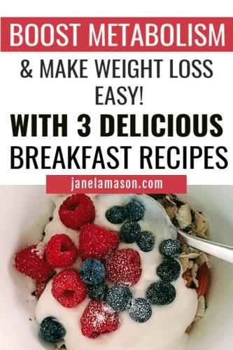 healthy metabolism boosting cereal
