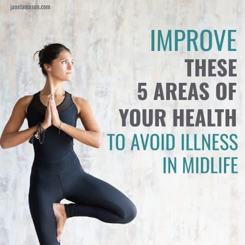 woman doing yoga to improve health