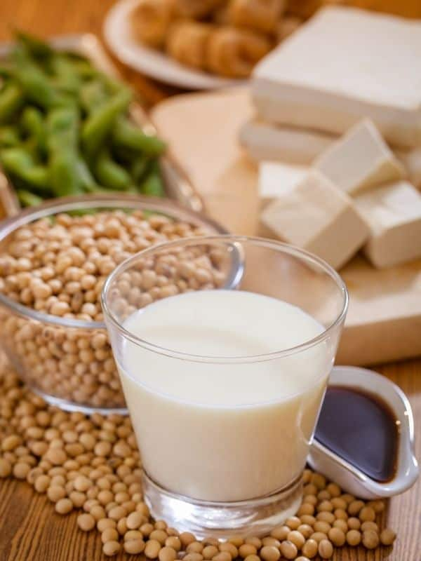 Different types of soy to help reduce hot flashes in menopausal women