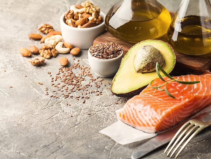 healthy fats to help with hormonal imbalance.